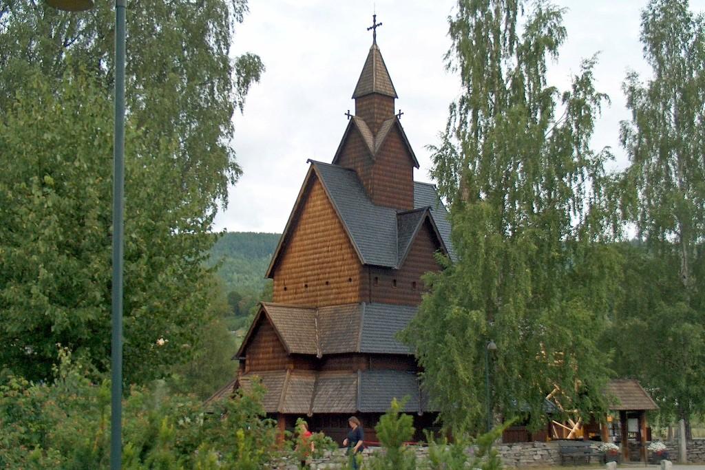...und noch einmal die Kirche aus anderer Perspektive.