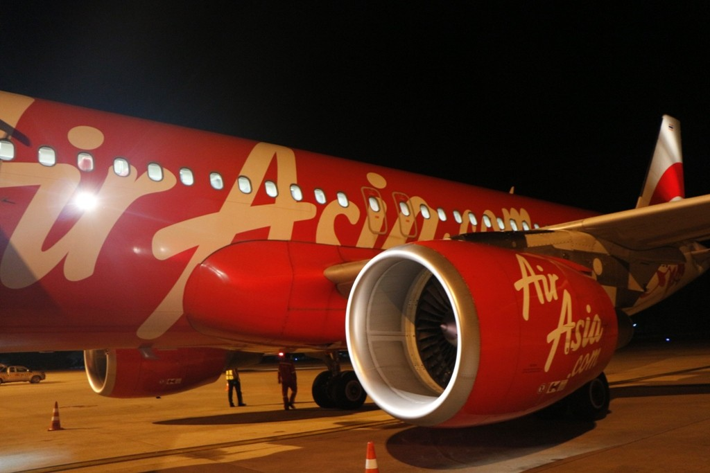 Ankunft auf dem Internationalen Airport zu Phuket