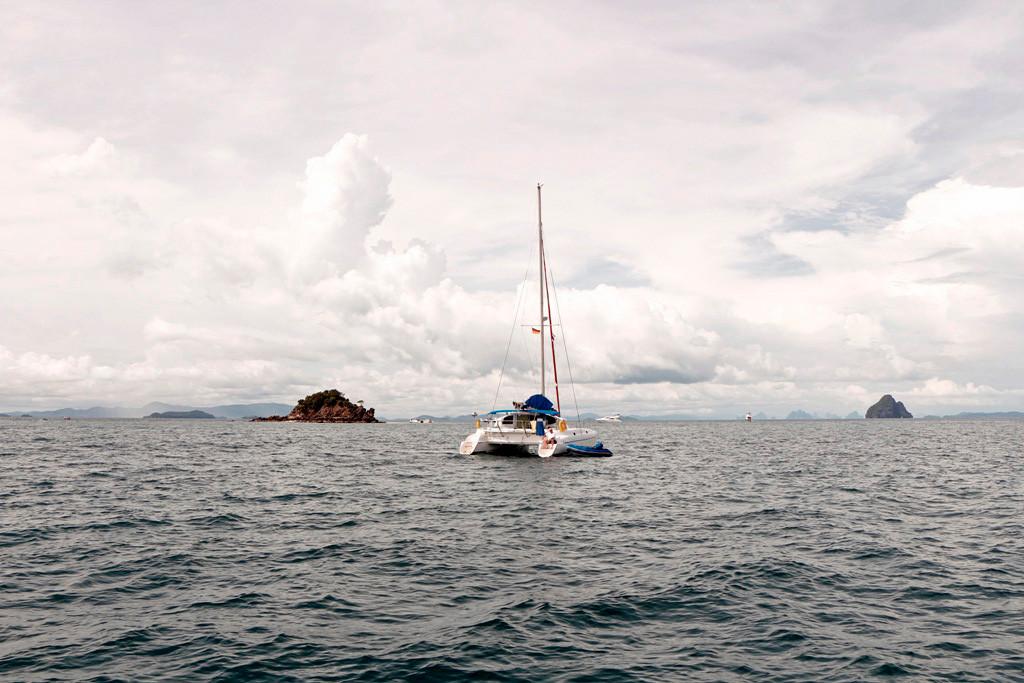 ...die Weiten der Adamanen See mit ihren vereinzelten Inseln, ein sehr schöner Anblick!
