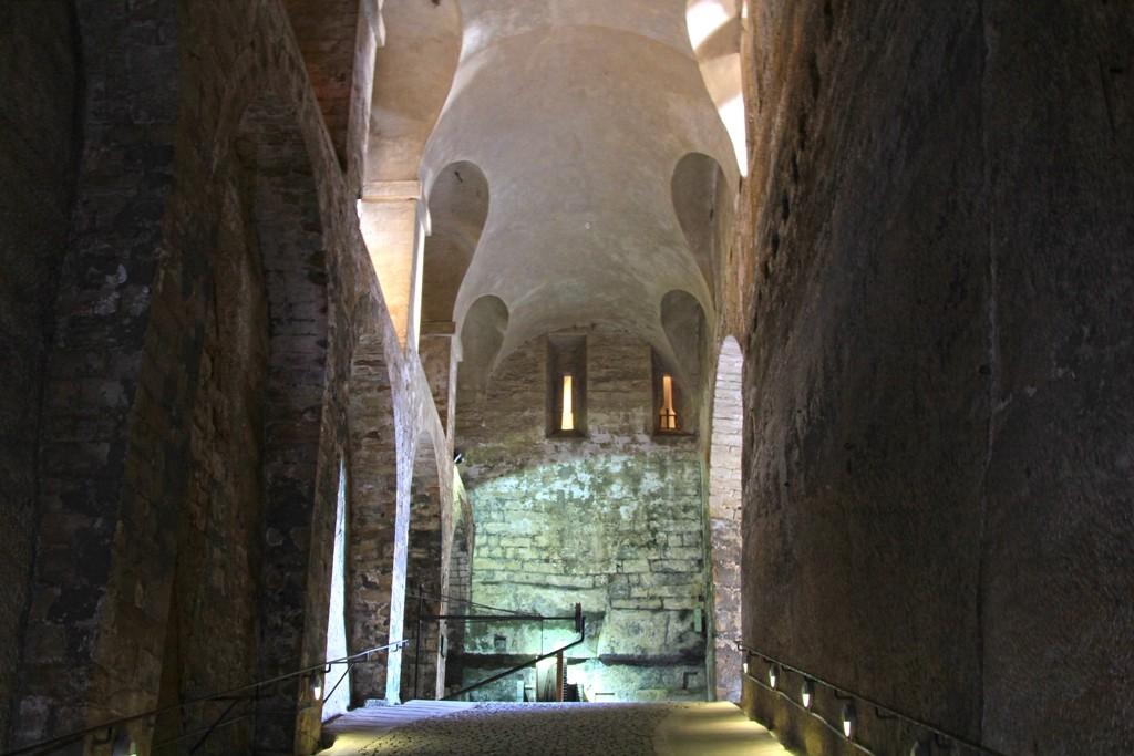 In den Kasematten, Teil der unterirdischen Festungsanlage