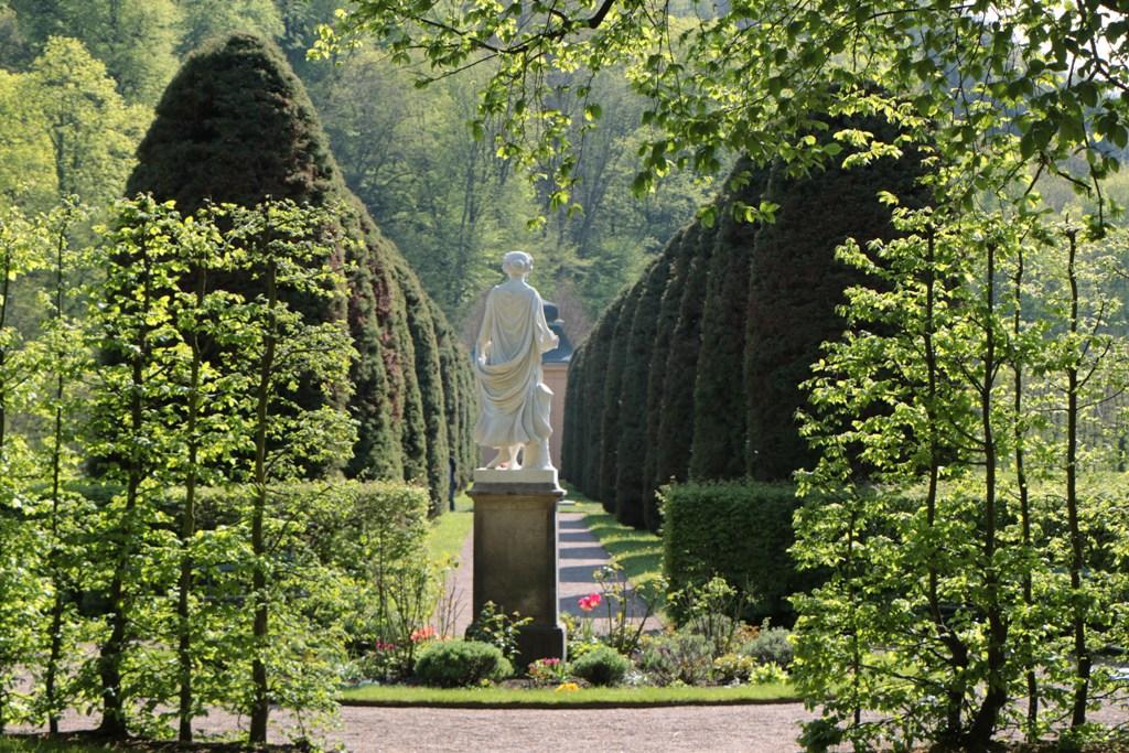 ...de Abschied vom wunderschönen Schlossgarten Weesenstein!