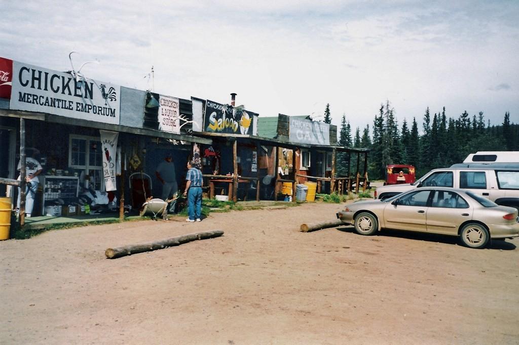 Chicken Downtown, das war 1998 noch der Dreh- und Angelpunkt inkl. Fullstation