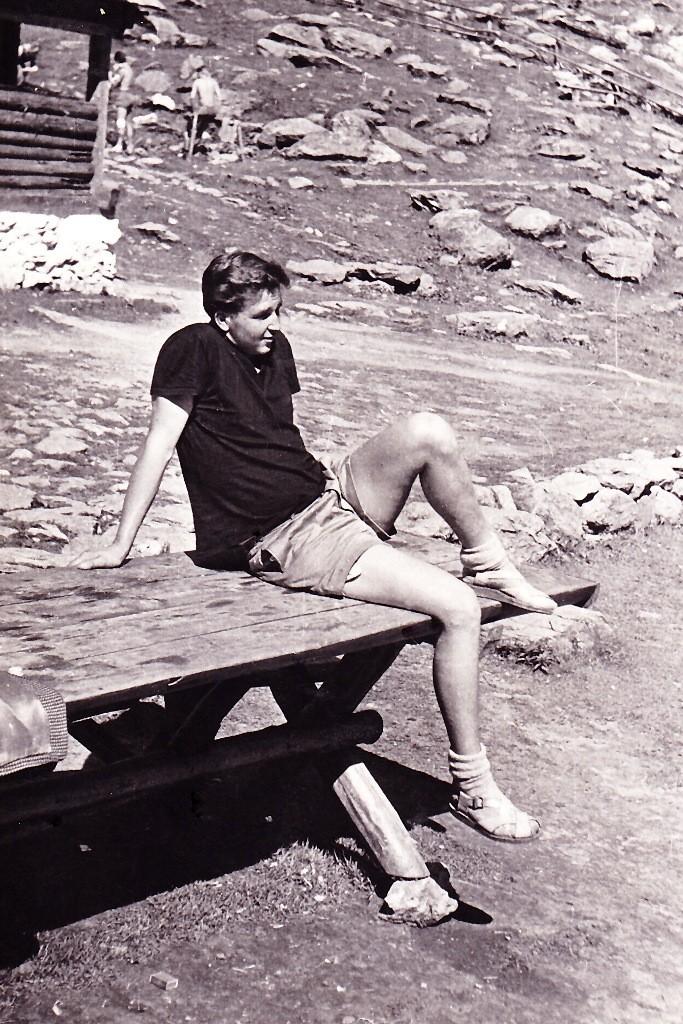 Im Fagaras Gebirge - Rumänien 1962