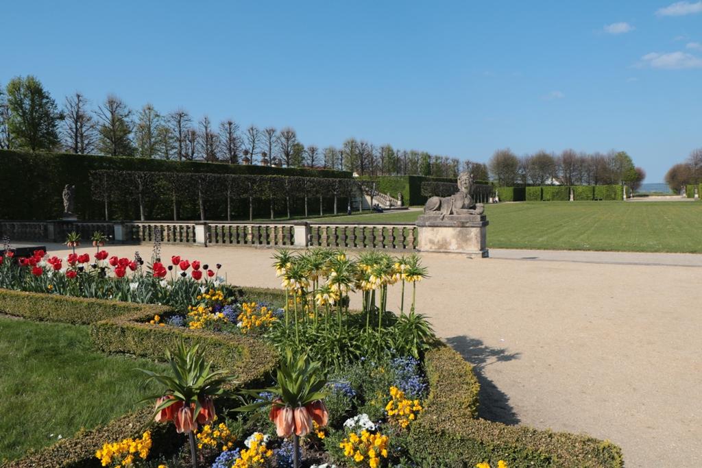 Die enorme Blütenprachtim Schlossgarten