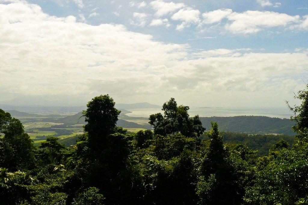 Blick von einem Viewpoint von der Mossman-Mt. Molloy Road via Mossman/Snapper Island