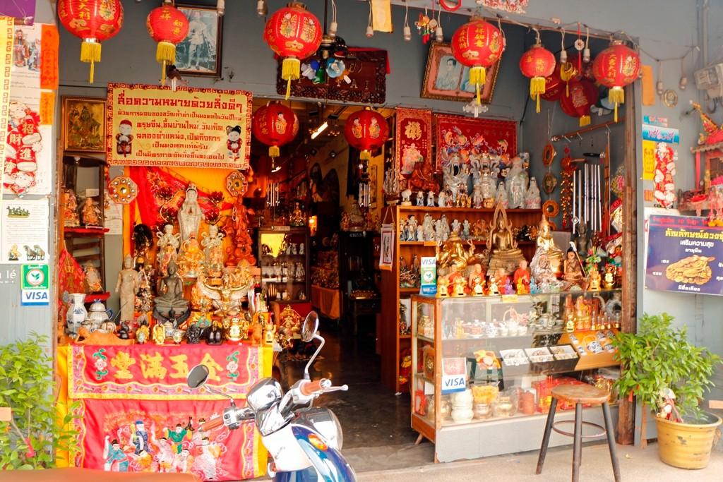 Das hier viele Thai´s mit chinesischen Wurzel leben ist augenscheinlich