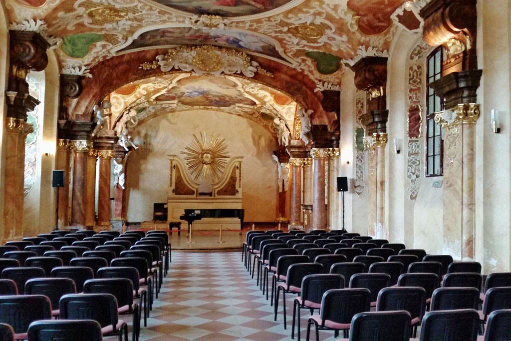 Das Oratorium Marianum wurde 1733 fertig gestellt