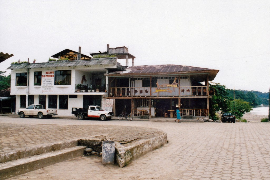 ...unser Hostel in Misahualli