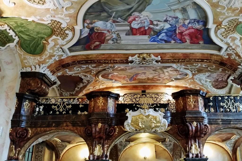 Detailansicht im Oratorium