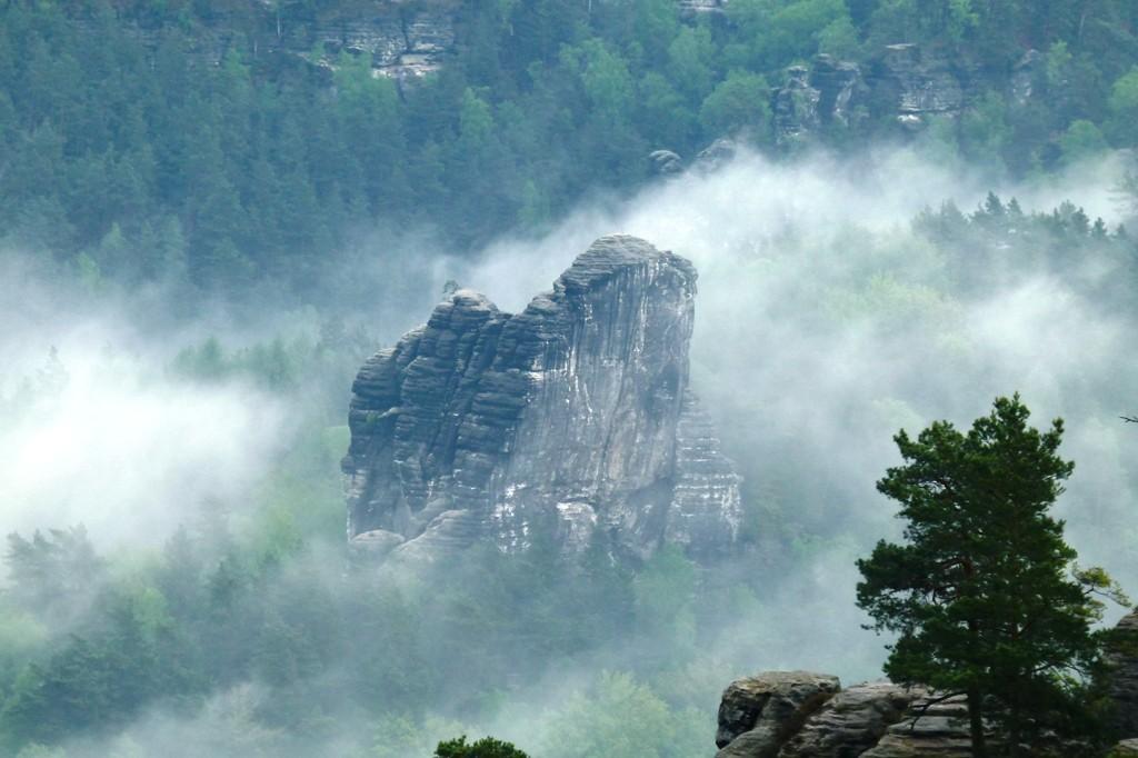 Der Talwächter von Nebelschwaden umgarnt!