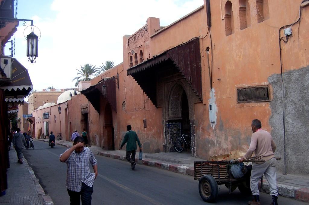 ...ein Stück Stadtmauer vom Inneren der Stadt