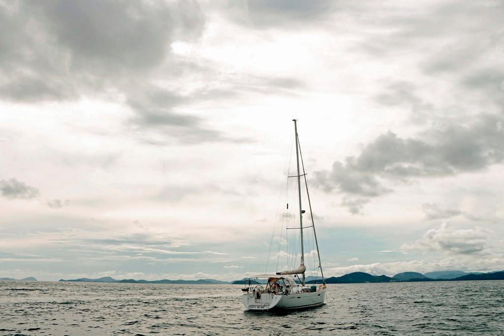 Letztes Foto und zugleich Abschied von der zum Teil atemberaubenden Szenerie der Adaman See ind der beeindruckenden Inselwelt in Thailands Süden!