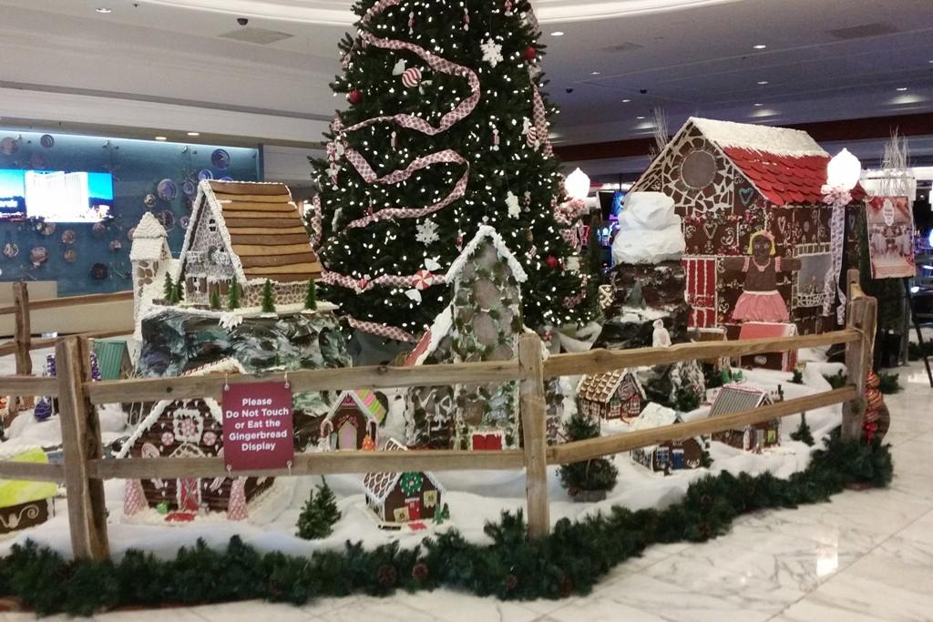 Weihnachten auch hier in der Lobby!