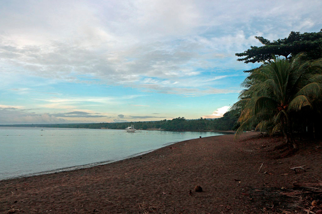 Totalansicht des Strandes in südlicher Richtung