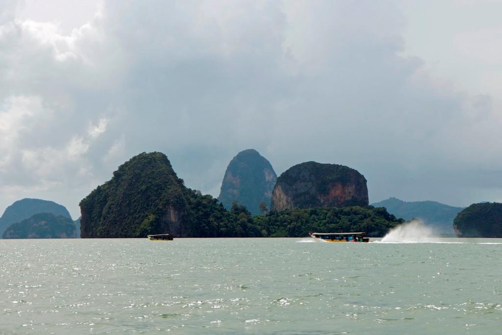 Impressionen aus dem NP Phang Nga mit all seinen artenreich Facetten.