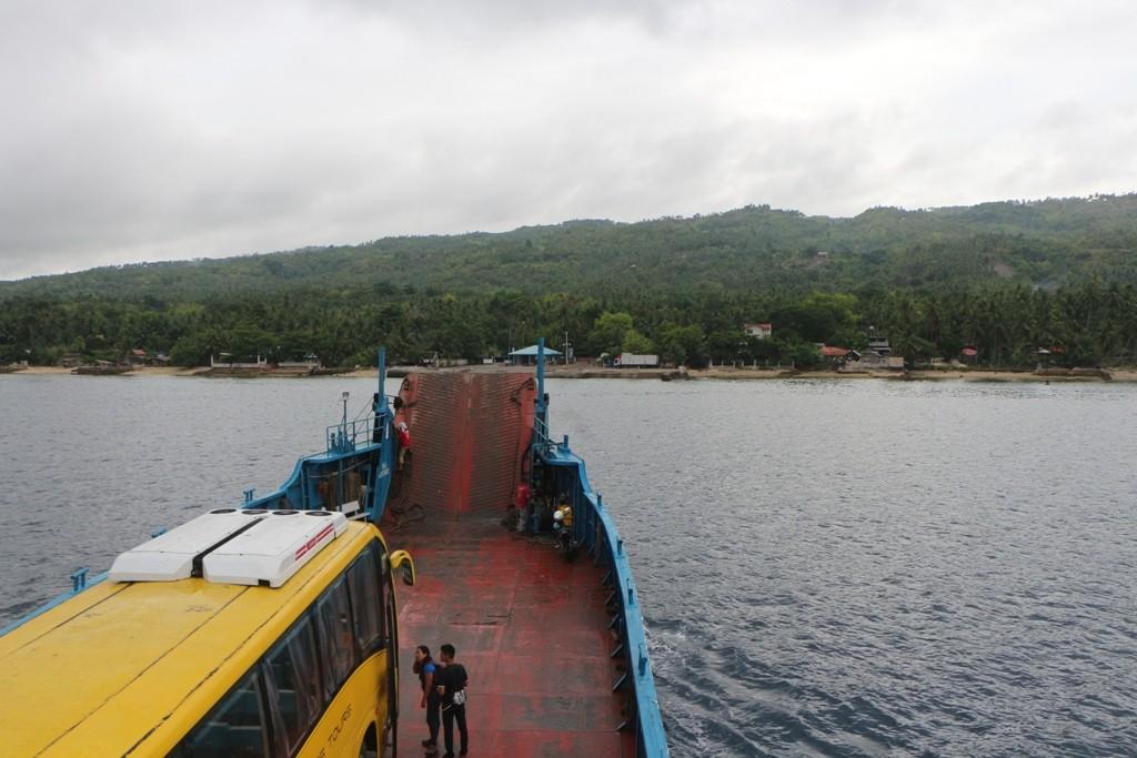 Kurz vorm Anlegen am Lilo-An Boat Terminal auf Cebu.