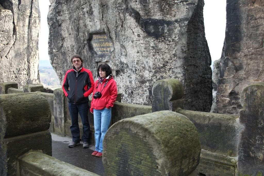 Ein Andenken an den Besuch der Basteibrücke in Rathen!