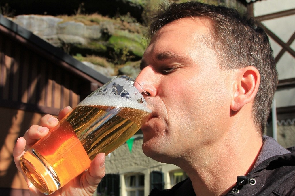 ...ein gutes sächsisches Bier, frisch gezapft, löscht den Durst - ist Gaumenfreude pur!