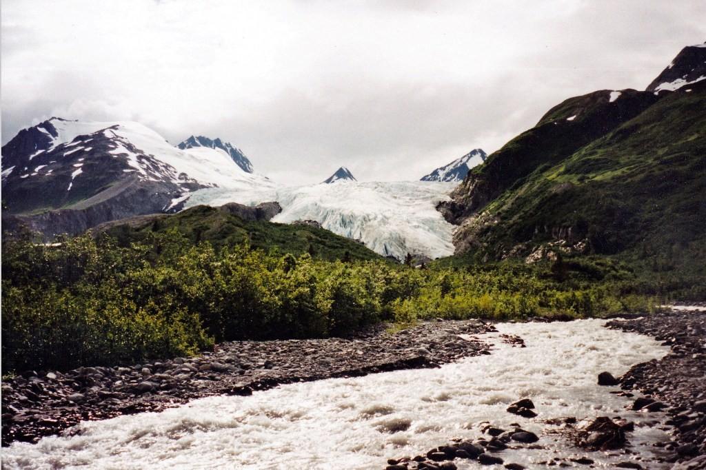 Der Worthington Gletscher am Richardson Hwy