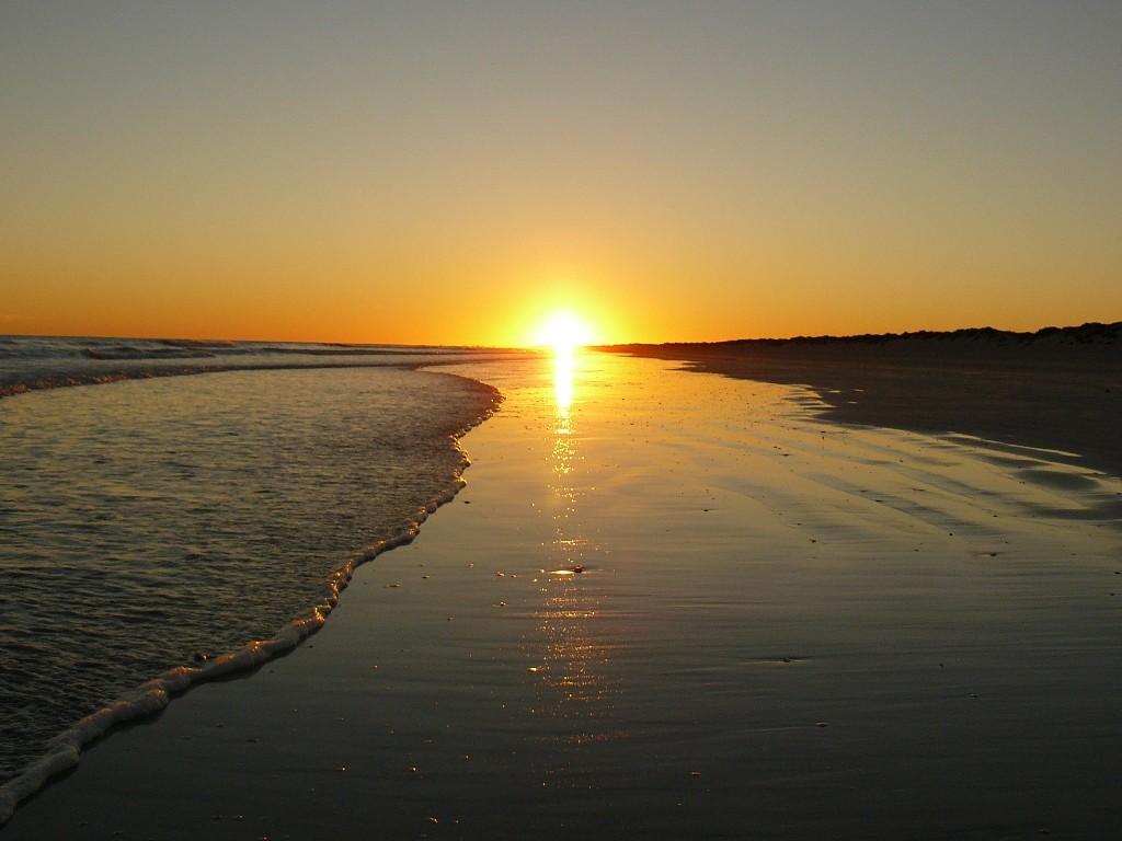 Noch einmal der wunderschöne Sonnenaufgang!