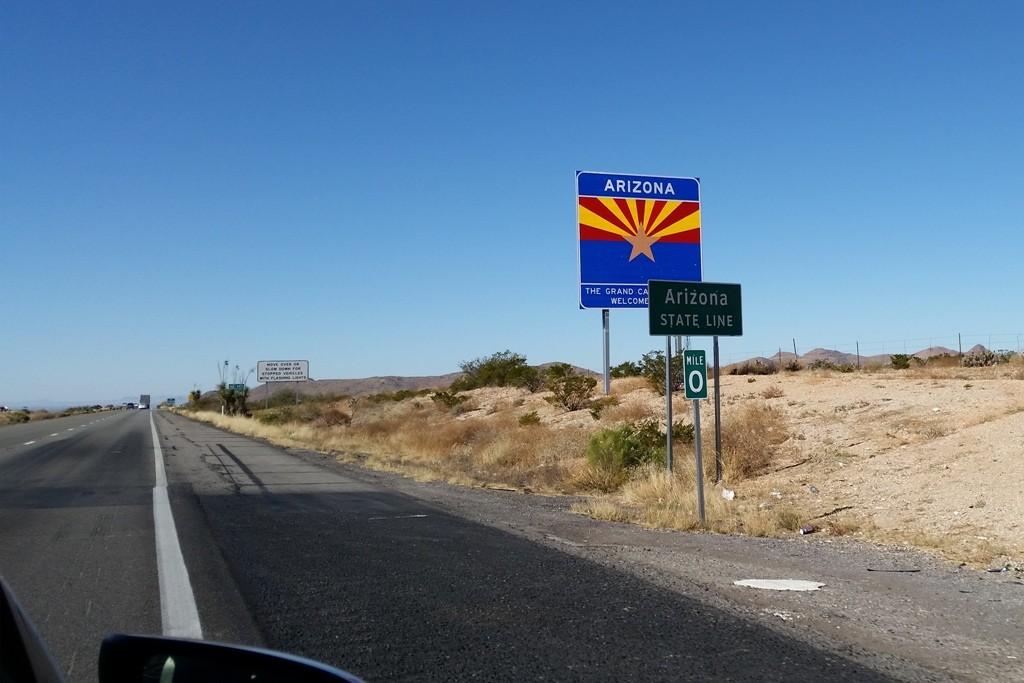 Endlich, wir sind in Arizona!