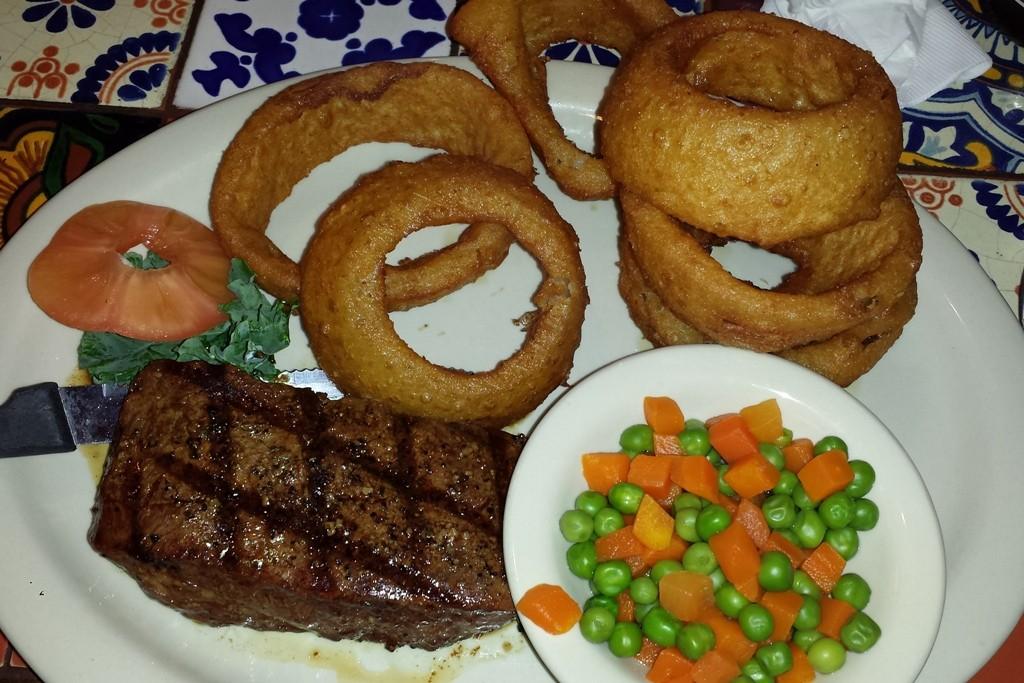 ...leckeres Essen, aben nicht so typisch amerikanisch!