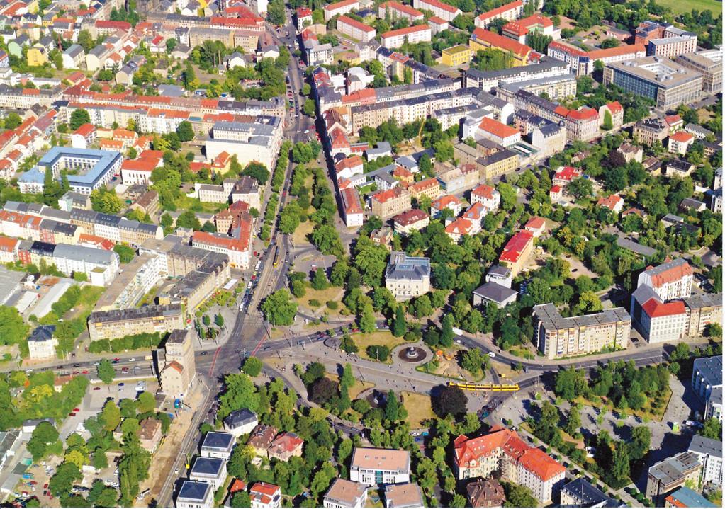 Dresden - Albertplatz dieser Tage