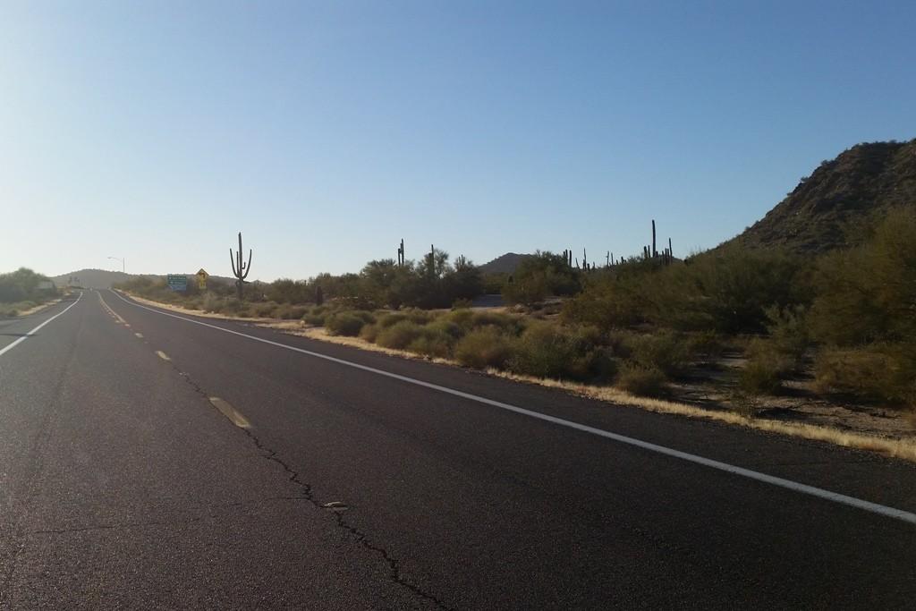 Nach den gigantischen Erlebnissen der Riesenkakteen geht die Fahrt weiter nach Yuma!