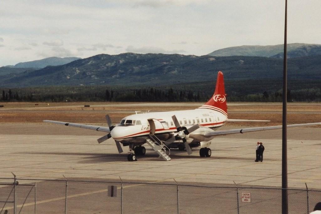 Unser Flieger für den Flug nach Anchorage