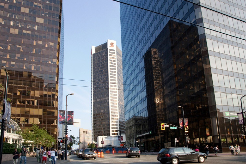 Super Hochhäuser in West Hastings-Vancouver