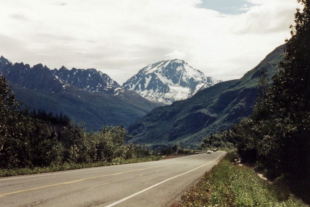 Auf dem Richardson Hwy via Valdez