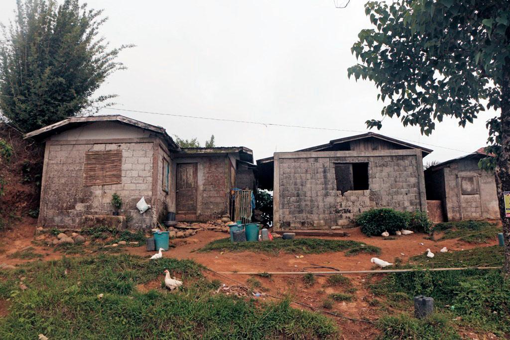 Auch hier leben Menschen, wenn auch unter schwierigen Bedingungen.