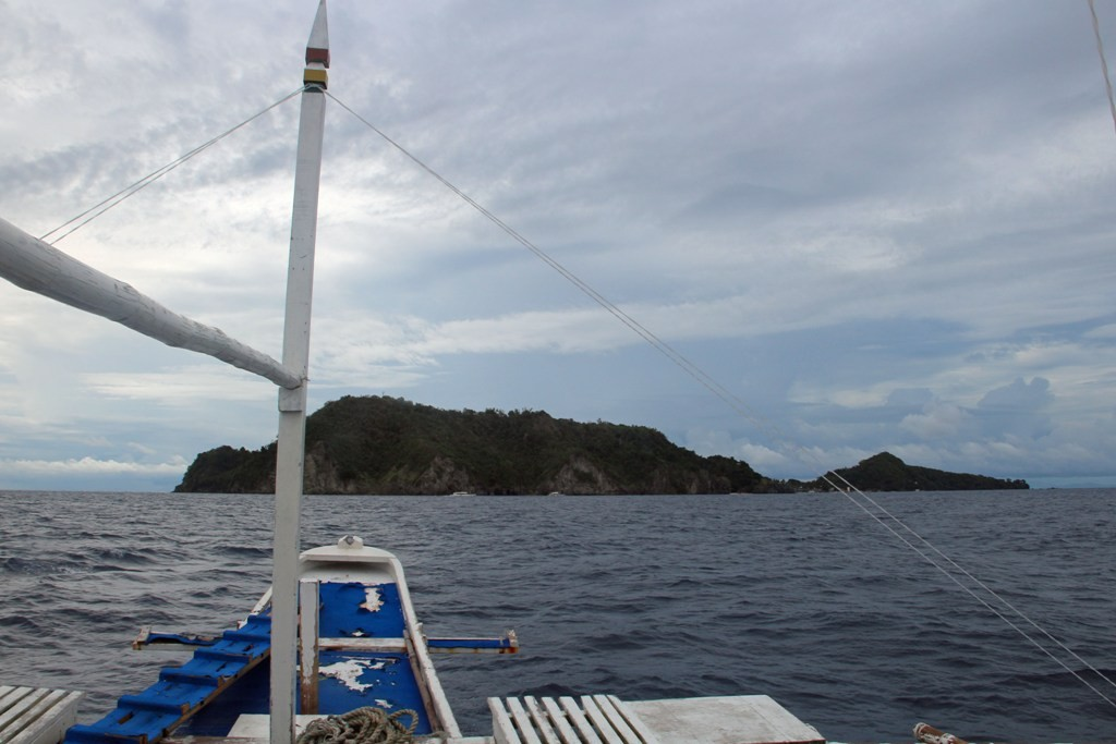 ...und Apo Island kommt immer näher, dort wird...
