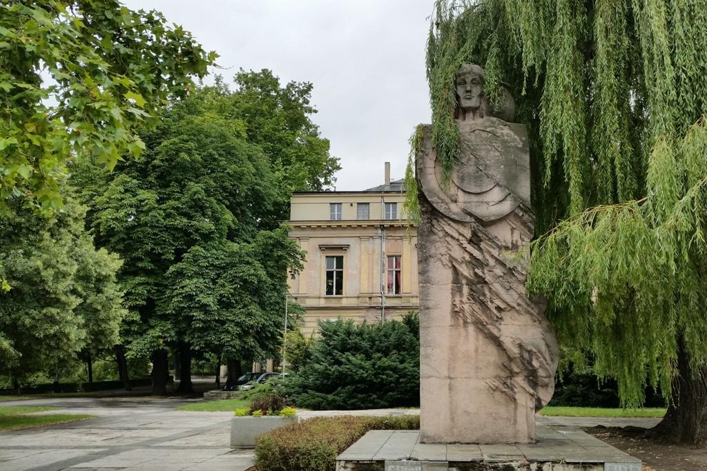 Die Statue des Nikolaus Kopernikus