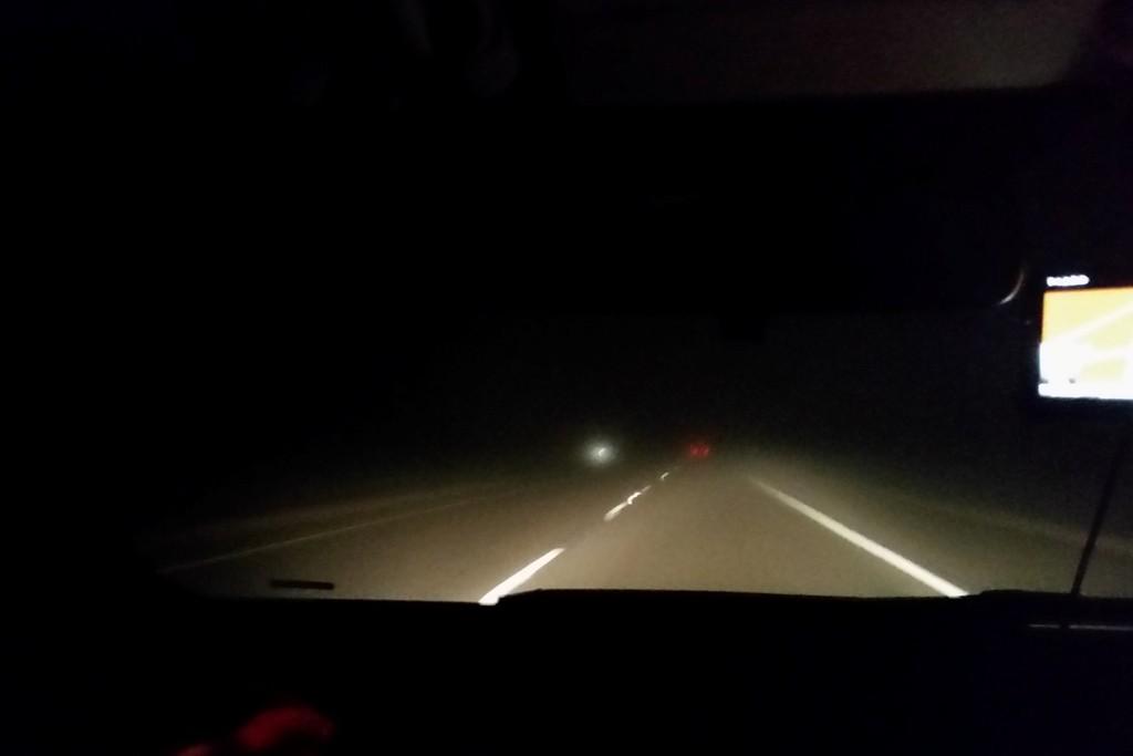 ...bei Nacht und Nebel nahe Gallup auf der I 40