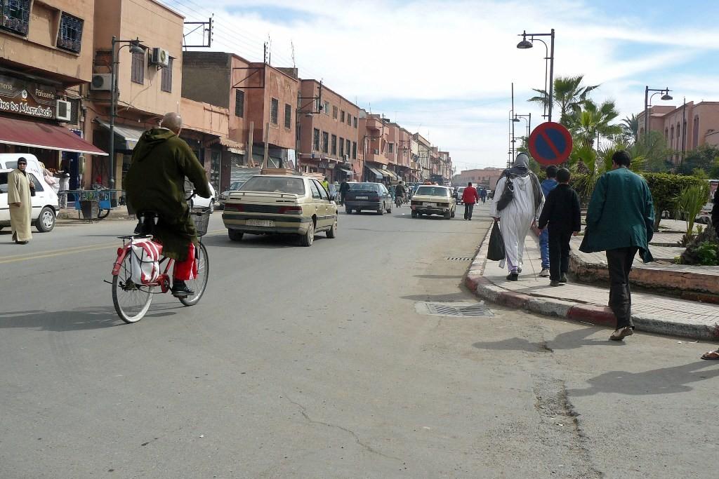 """Marrakech die """"Multikulti Metropole"""" empfängt uns wie vor zwei Jahren wieder mit Großstadtgetümmel"""