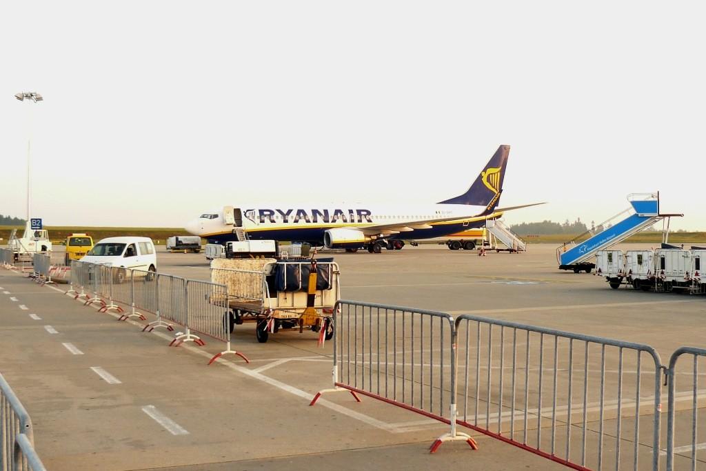 Wir sind auf dem alten Airport Marrakech angekommen
