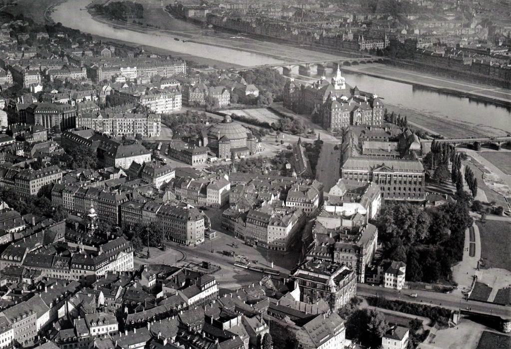 Dresden - Neustadt um 1924