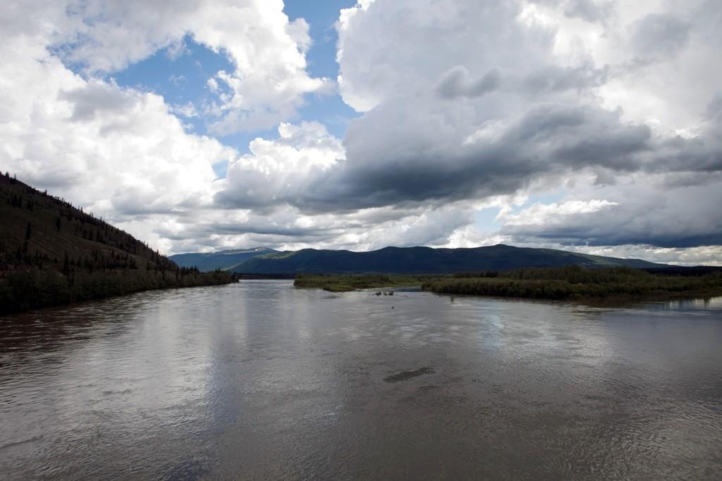 Steward River, Blickrichtung Keno Hills