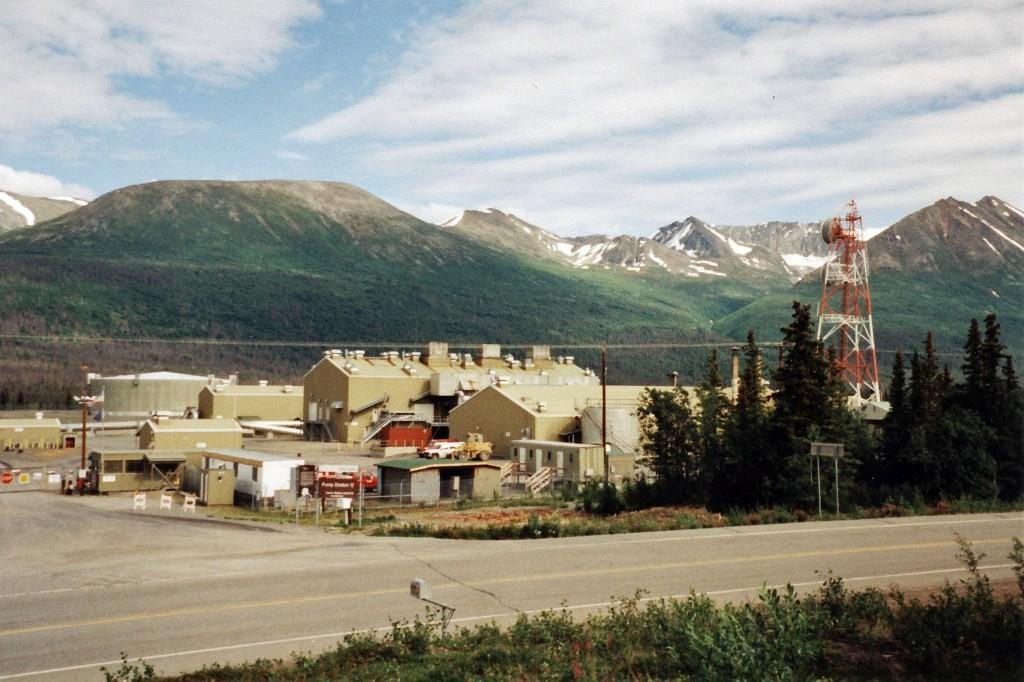Die 12. Pumpstation der TAP, die letzte vor Valdez