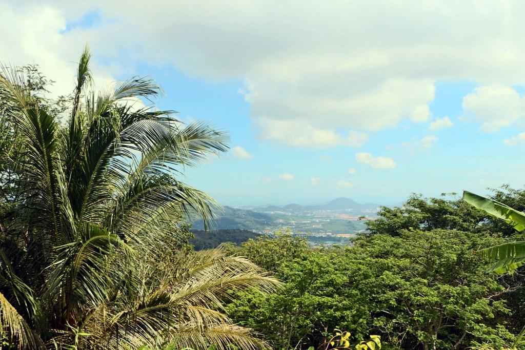 Im Hintergrund ist Phuket Town zu erkennen