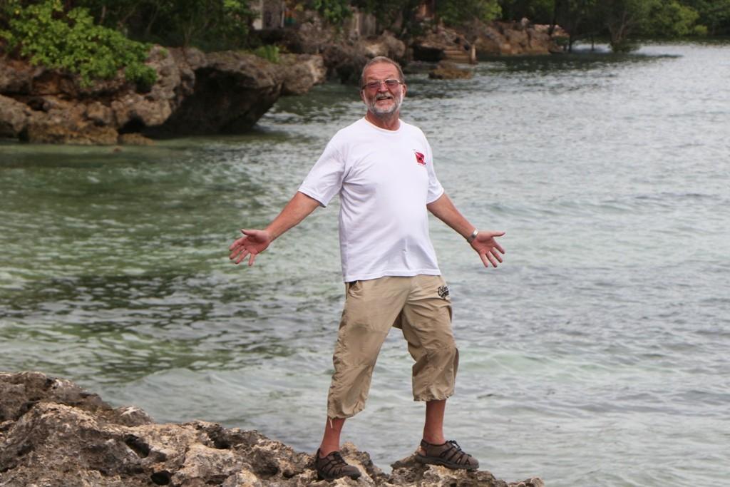 ...ich bin zufrieden und gücklich ob der hier verbrachten Tage auf den Philippinen!