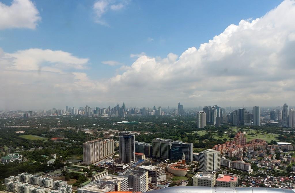 ...Landeanflug Manila