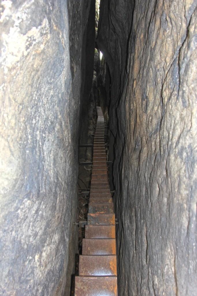 Die Himmelsleiter muss man schon mal hinauf gestiegen sein, wenn man die Sächsische Schweiz besucht hat