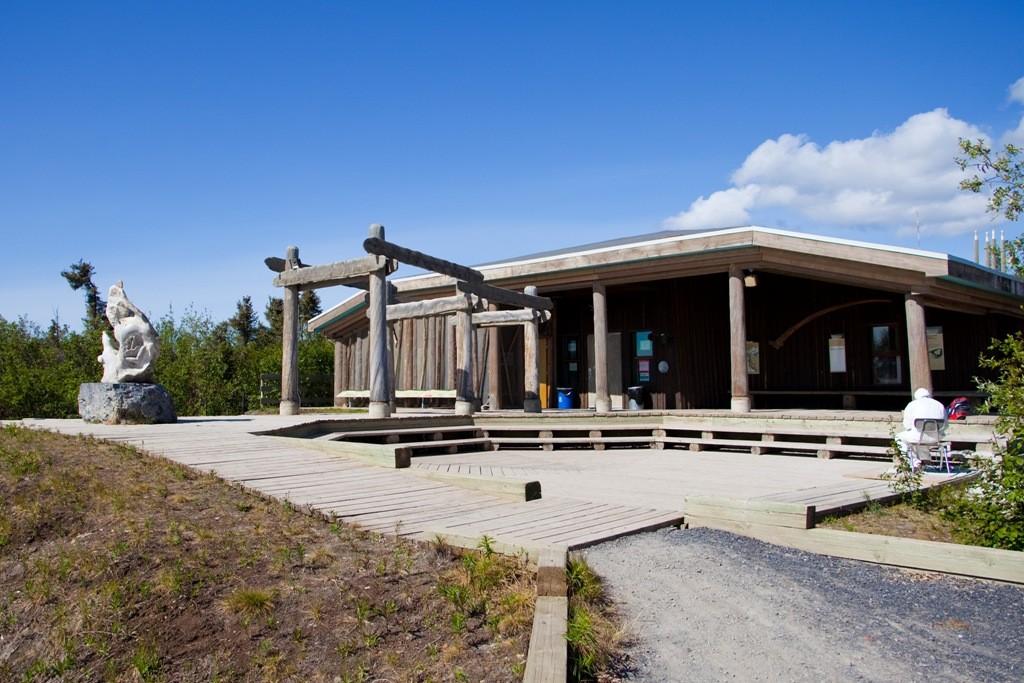 Der Visitorcenter von Inuvik