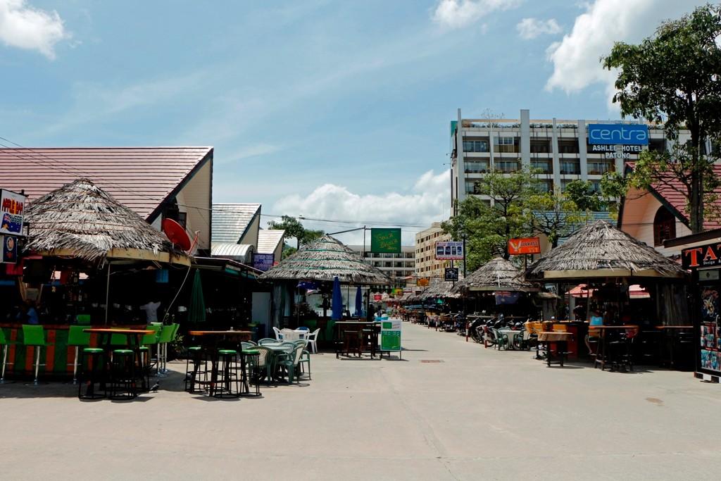 Letztes Foto von Patong, ich mache mich wieder per Pedes nach Karon.