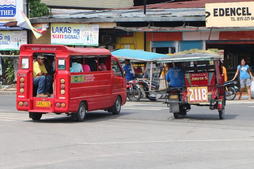 ...und fing so manchen Schnappschuss ein. Der Verkehr ist chaotisch und somit war der Auslöser stets in Betrieb!