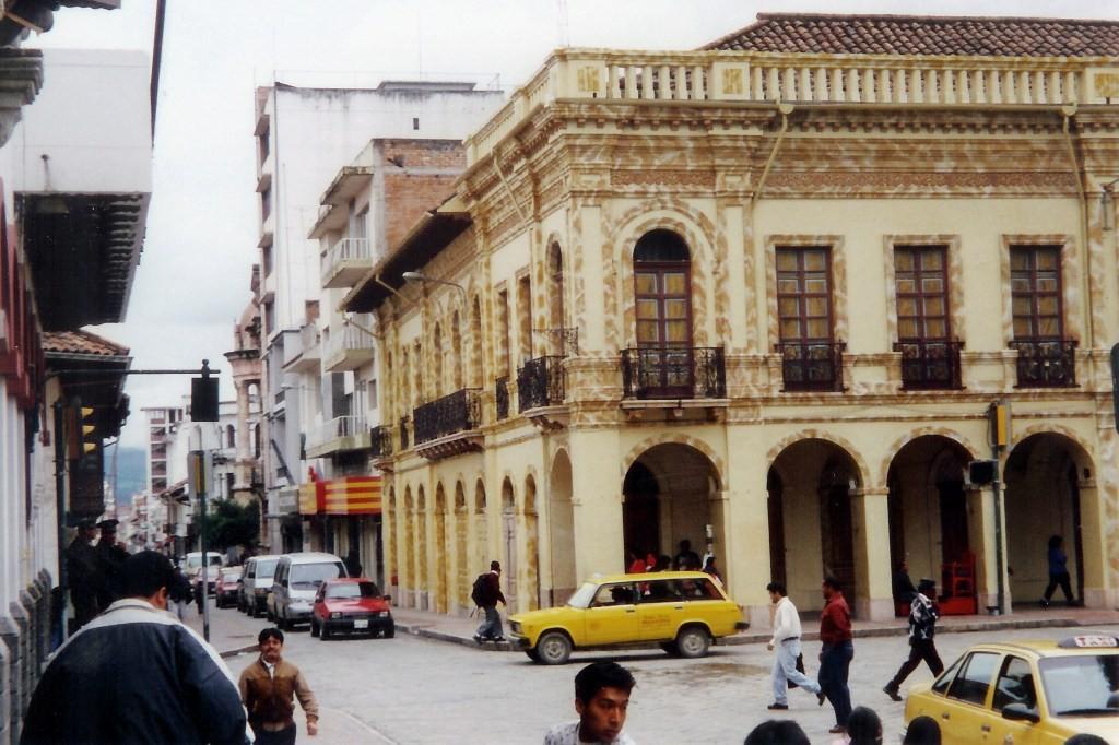 Stadtimpressionen Cuencas