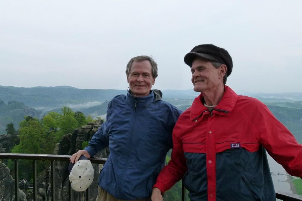 Die Brüder aus den Staaten zum ersten mal in der Sächsischen Schweiz!