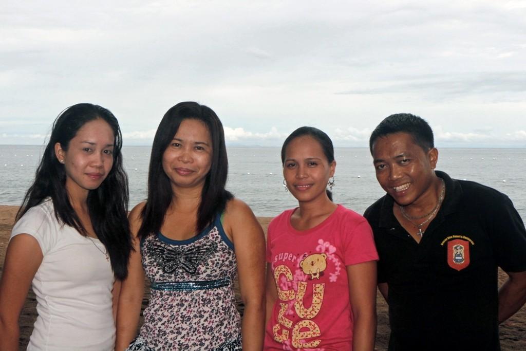 Man kann die fleißige Crew mit Angelita, Anita, Tina und Pedro gar nicht oft genug zeigen!